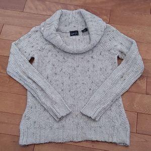 Kersh Alpaca Wool blend cowl neck knit sweater M
